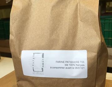 Farine T55 pâtisserie 1 kg