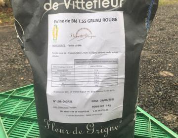 Farine de gruau 5 kg