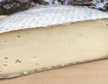 Tomme au lait de vache nature (la part d'environ 200g)