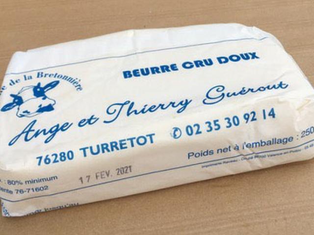 Beurre doux 250g