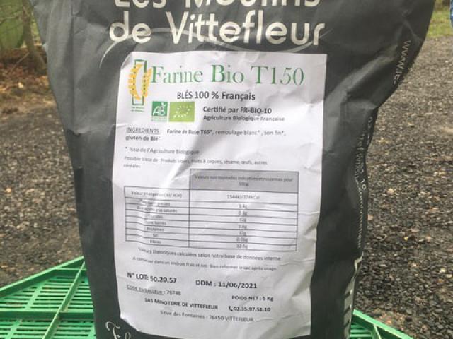 Farine Bio T150 5 kg