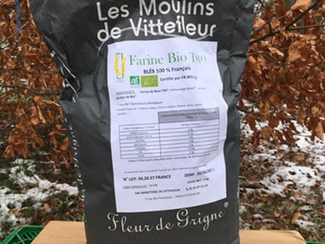 Farine Bio T80 5 kg