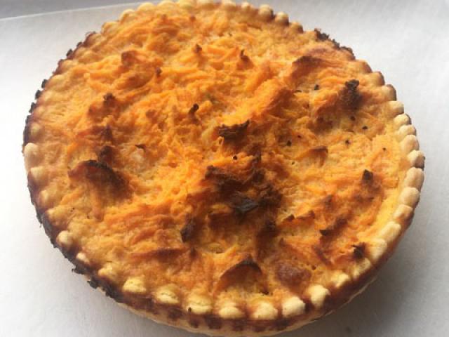 Tartelette à la carotte