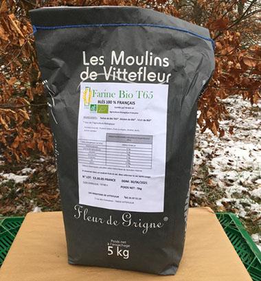 Farine Bio T65 5 kg