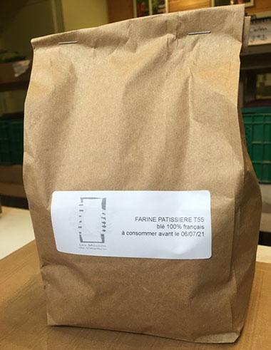Farine T55 pâtisserie 5 kg