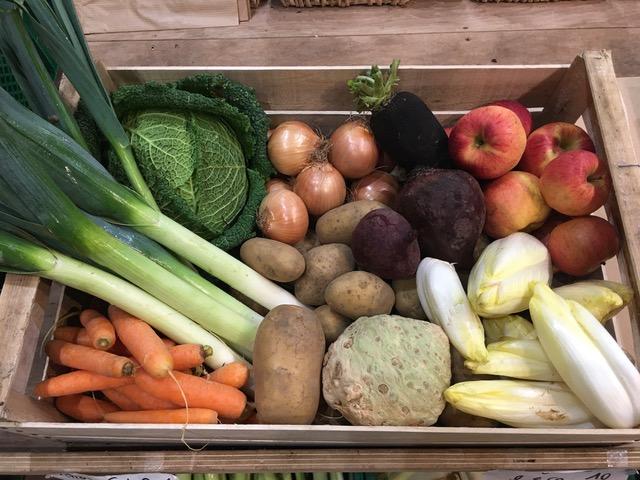 Panier de légumes de saison 25€